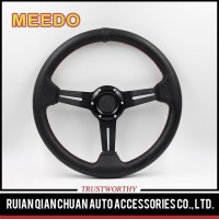 Hot sale car steering wheel 350mm 50mmdish ATV UTV Old scooter Farm vehicle car steering wheel