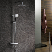 Rain Shower Round Constant Temperature Shower Kit Shower Column