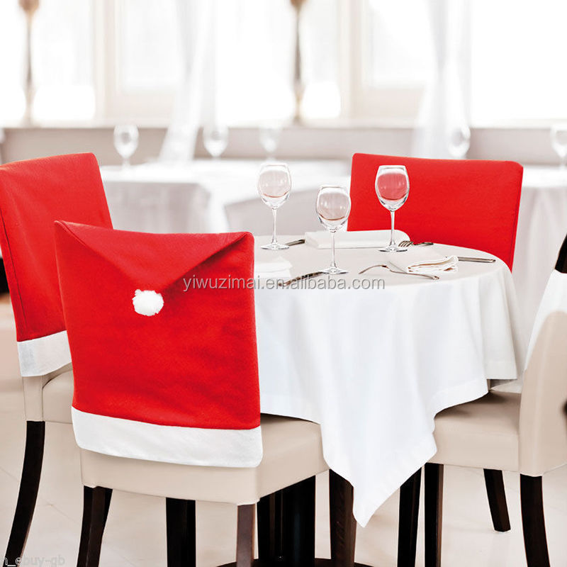 Europe and the United States sell high-quality goods <strong>Christmas</strong> table chair sets of <strong>Christmas</strong> supplies decorative <strong>Christmas</strong> hat A