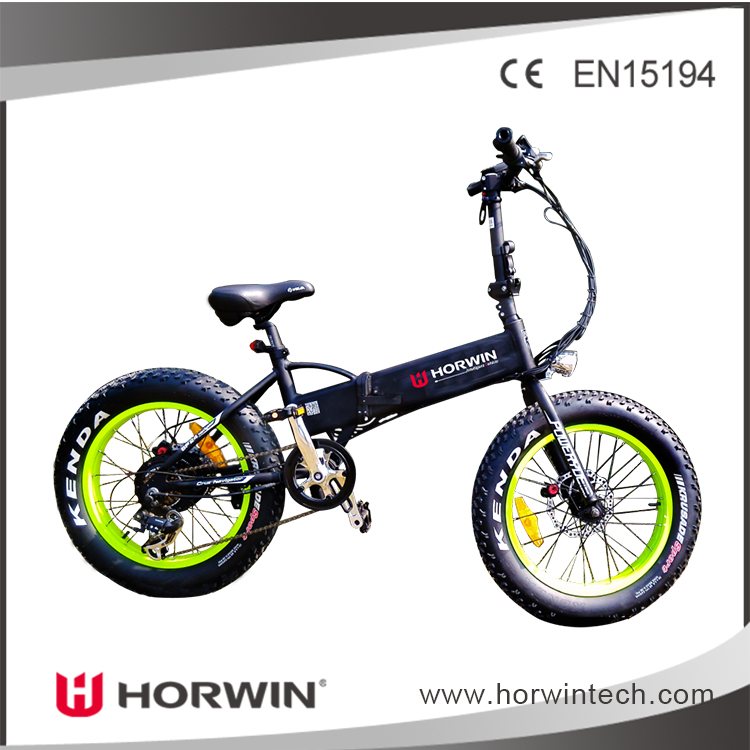 "Horwin 350W36V 20"" Rifle electric bicycle folding electric bicycle folding electric bike BAFANG motor"