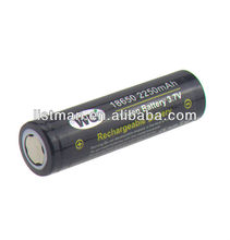 18650 Rechargeable battery Nipple WU IMR 18650 2250mAh 3.7V High Drain Li-Mn Battery