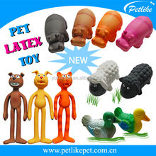 Alibaba top ten selling pet products new design latex dog toy china supplier