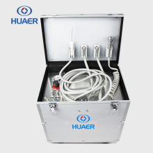 CE Approved Hot Sale High Quality Portable Dental air compressor build in mobile dental unit
