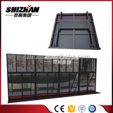 Economical aluminum removable barrier/crush barrier/temporary fence expandable barrier