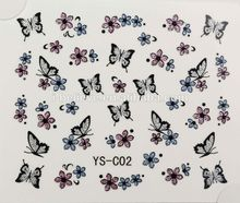 2014 Hot New Girls fashion decal art 3D Nail Sticker free sample nail stickers make your are more elegent
