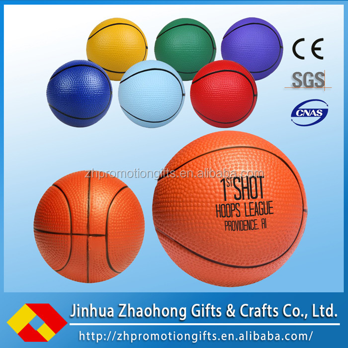 high quality custom logo Polyurethane pu foam stress ball
