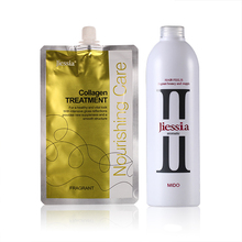Salon hair straightening ionic perm lotion
