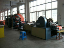 4 color flexographic printing and cutting machine for pp woven fabric