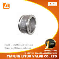 Selected product wholesale Cast lron Wafer Type Single Disc Swing Check Valve