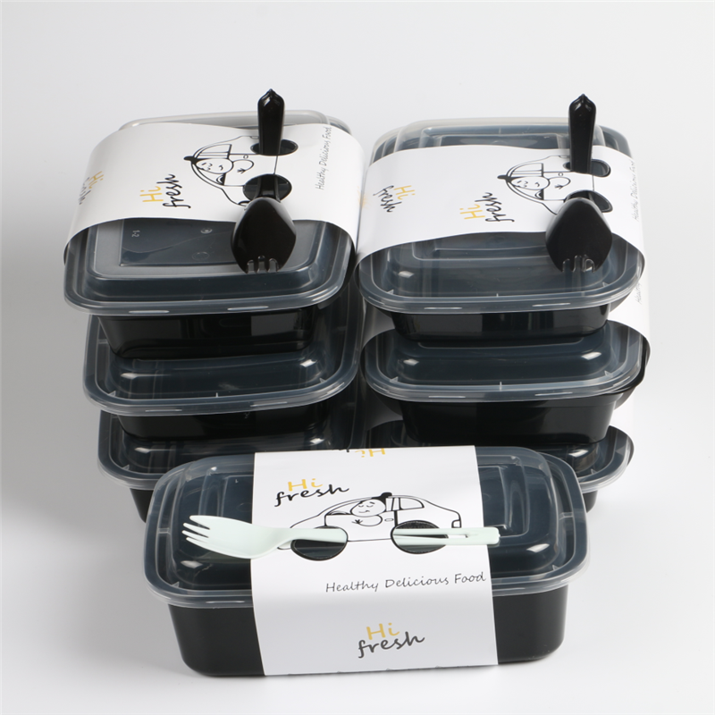 Food Grade conjoined boxes, 100ml-3000ml high quality microwaveable take away plastic food container disposable