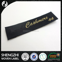 Factory made cheap embroidery fashion custom clothes label