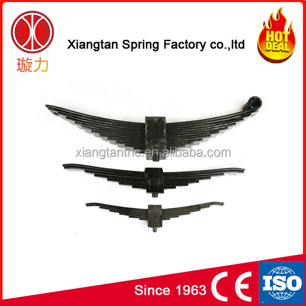 Heavy duty truck 5pcs immovable plate spring small leaf spring