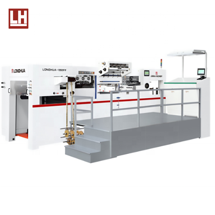 LH-1050FF Automatic Holographic Positioning Foil Stamping Die Cutting Machine with good quality supplier in china