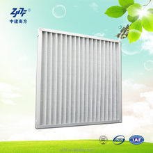 Panel Filters for Coarse Filtration, Primary Filter, Pre-Filters