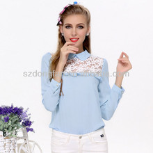 new style 100% silk blouse 2014 fashion type factory supply