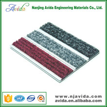 Architectural design Anti Slip Aluminium Door Mat Carpet