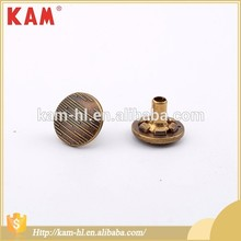 Customized shape press KAM jacket metal snap buttons