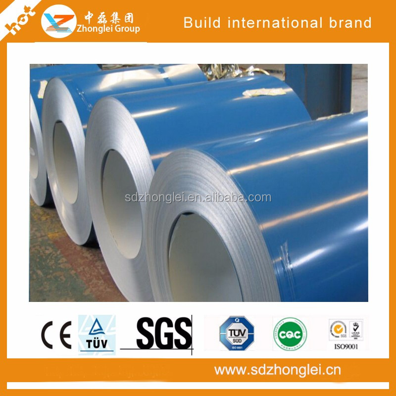 high performance polyester prepainted galvanized steel coil