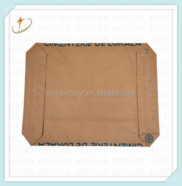 Kraft paper cement packaging bag