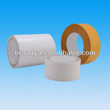 Double sided tissue 3'' diameter adhesive tape