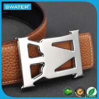 Best Selling Products Stainless Steel Crown Belt Buckle For Men