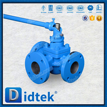 Didtek WCB 3 way Inverted Pressure Balance Lubricated Plug Valve