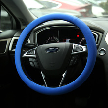 New arrival car accessory fashion durable silicone steering wheel cover