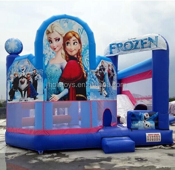 Hola frozen jumping castle/jumping castle inflatable/jumping castle