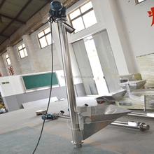 vertical pipe tube screw auger conveyor for flour
