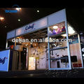 modern and portable exhibition booth design service from detian display