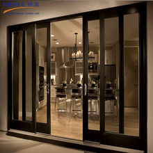 Double glass sliding glass door and sliding door philippines price and design
