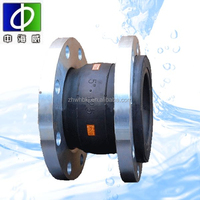 iso certificate/factory supply/epdm/pn10 double sphere flanged rubber expansion joints