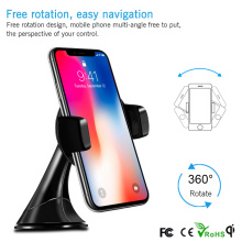 Wholesale Price Qi Standard Multi-function Portable Mini Universal Fast Wireless Magntic Car Charger for Samsung Galaxy S7 S6