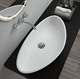 SM-8322 Very Beautiful Sinks, Hot Sell Counter Top Wash Basin mixer