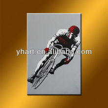 Hot Sell Handmade Wall Art Decor Sport Picture