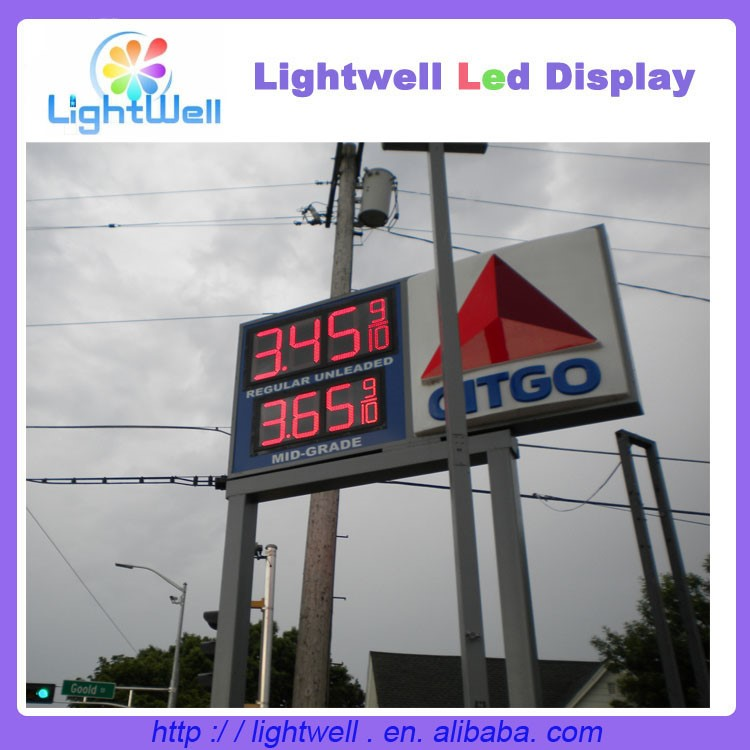 16inch 8.88 9/10 LED gas/oil price destination sign
