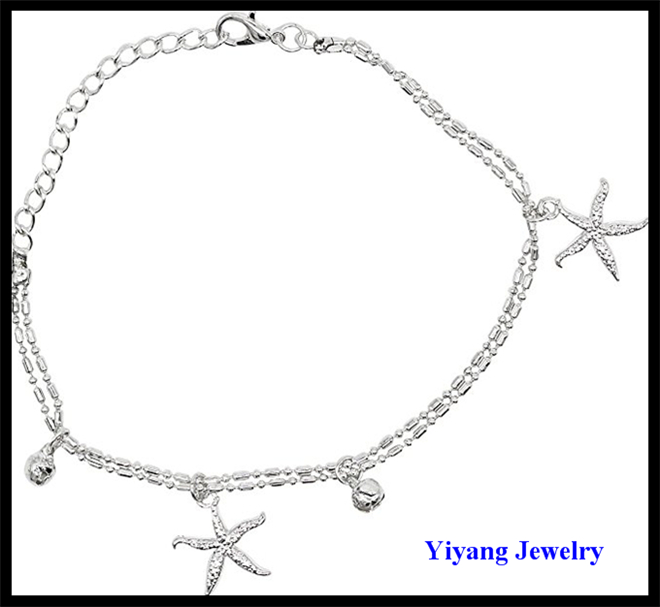 Fashionable in 2017 Chain Jewelry Starfish Bracelet