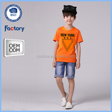 2016 New t shirts design of boys,wholesale cotton t shirts