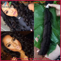 100% Unprocessed Last Ability Spring Curl brazilian italian weave human hair extension