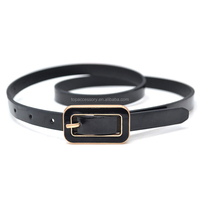 Howdy Faux Leather Belt Strap