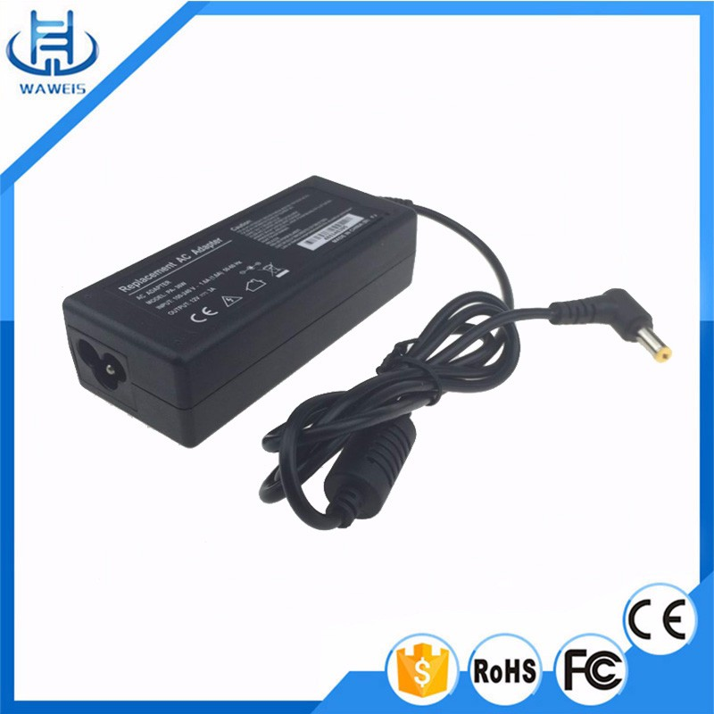 Factory 100% OEM 12v 220v ac dc power supply adapter notebook charger 12v 3a for lcd laptop