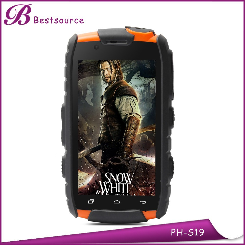 4inch android 4.2 3G rugged gsm sip phone with walkie talkie