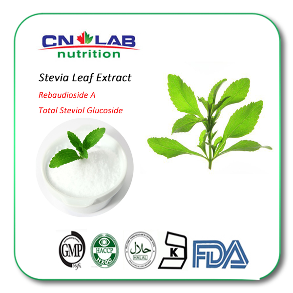 Natural Stevia Sweetener Stevia Extract Reb A 40%-95%
