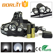 Boruit Patent 3000 Lumen LED Bike Headlamp for Camping RJ-1155-R5