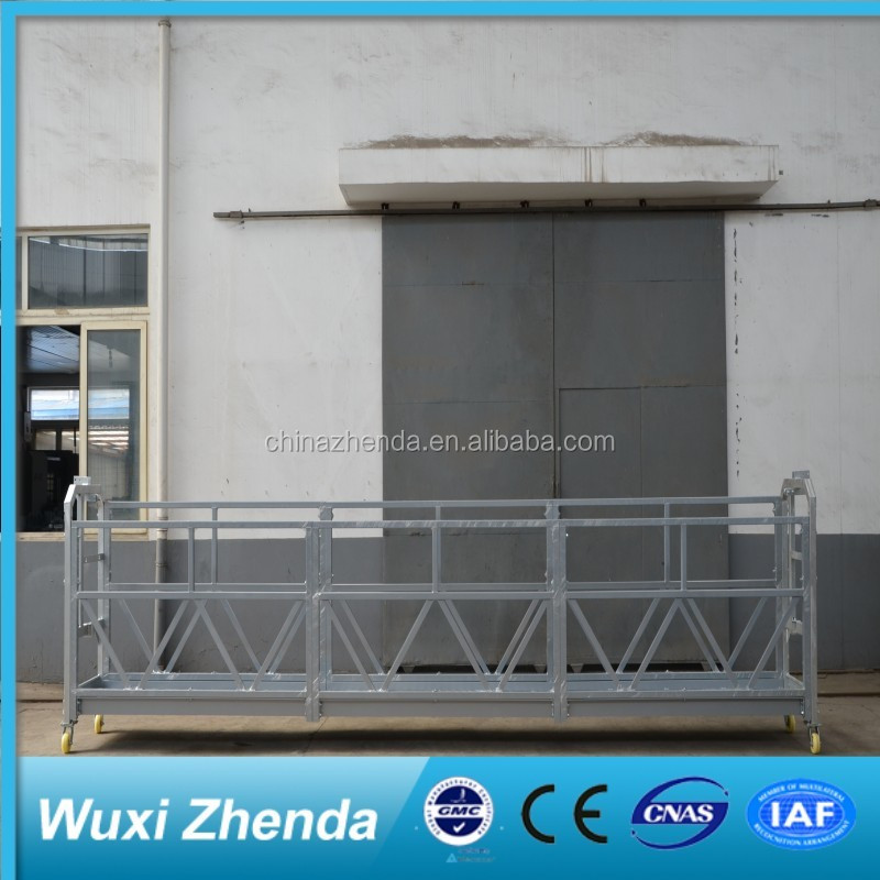 Widely Use Facade Construction Crane Suspended Personnel Platforms Scaffolding