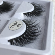 Premium Super Soft Lashes 3D Faux mink eyelashes with Cotton Band F012