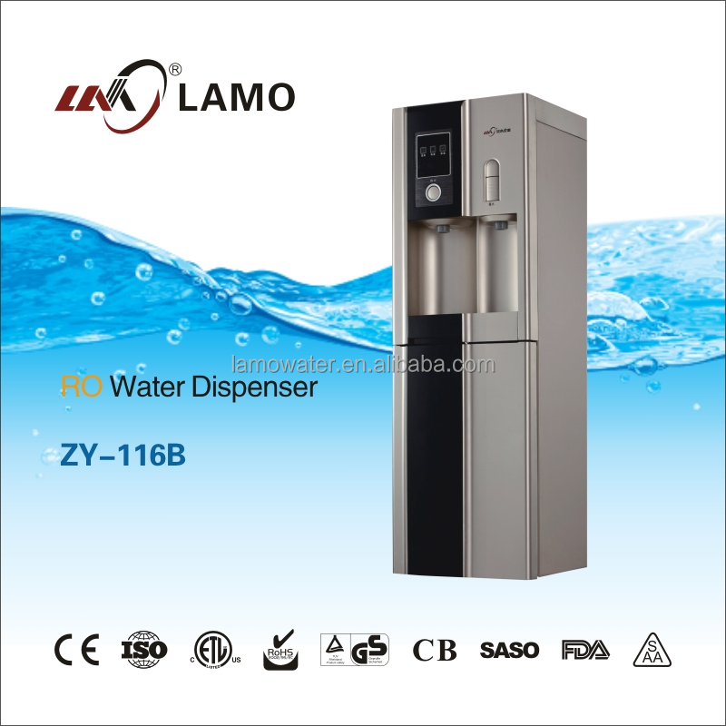 ZY-116B Hot and Cold Water filter machine ,Direct RO System drinking Water Plant Price,Bottle Stand Water Purifier