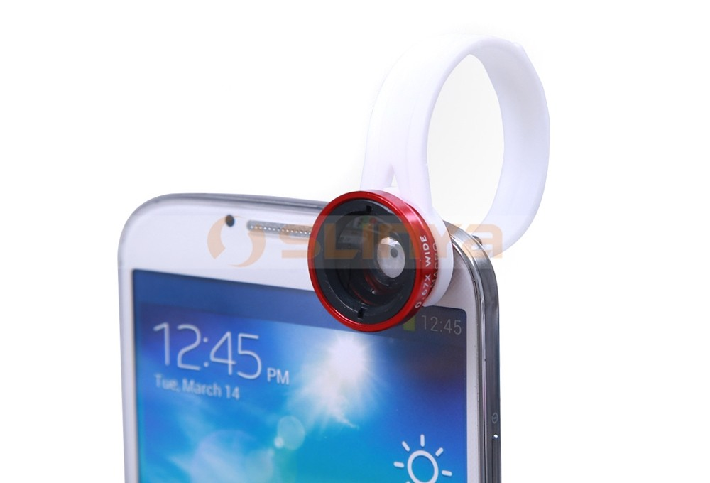 Mobile Phone Lens 3 in 1 Wide Angle Macro Fish Eye Lens For Phone