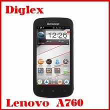 New 4.5inch Lenovo Mobile Lenovo a760 android 4.1 1GB+4GB Unlocked android phone 3g WCDMA 5MP GPS