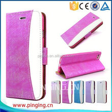 Newest fashion wallet case leather cover for Blackberry Q5